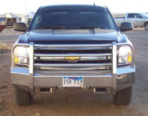 Truck Bumpers - Truck Defender - Truck Defender Aluminum Front Bumper Chevy Silverado 1500 2014-2015