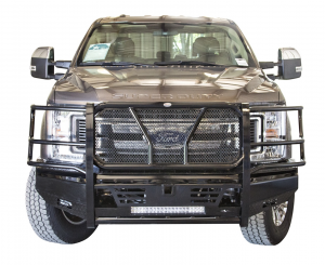 Truck Bumpers - Frontier Gear - Frontier 130-11-7006 Pro Front Bumper Light Bar Compatible Ford F250/F350 2017-2018