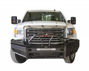GMC Sierra 2500/3500 - GMC Sierra 2500/3500HD 2015-2017 - Frontier Gear - Frontier Gear 600-31-5006 Xtreme Front Bumper with Sensor Holes Light Bar Compatible GMC Sierra 2500HD/3500 2015-2017