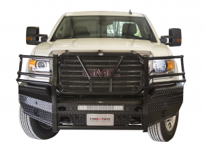 GMC Sierra 2500/3500 - GMC Sierra 2500/3500HD 2015-2017 - Frontier Gear - Frontier Gear 300-31-5006 Front Bumper with Sensor Holes Light Bar Compatible GMC Sierra 2500HD/3500 2015-2017