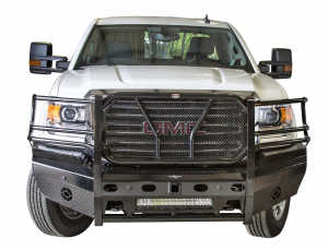 Frontier Truck Gear - Pro Series Front Bumpers - Frontier Gear - Frontier Gear 130-31-5006 Pro Front Bumper Light Bar Compatible GMC Sierra 2500HD/3500 2015-2017