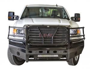 Frontier Truck Gear - Pro Series Front Bumpers - Frontier Gear - Frontier Gear 130-31-5006 Pro Front Bumper Light Bar Compatible GMC Sierra 2500HD/3500 2015-2018