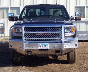 Truck Bumpers - Truck Defender - Truck Defender Aluminum Front Bumper GMC Sierra 2500HD/3500 2015-2017