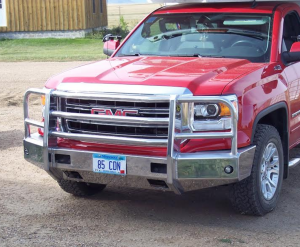 Truck Bumpers - Truck Defender - Truck Defender Aluminum Front Bumper GMC Sierra 1500 2014-2015