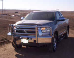 Truck Bumpers - Truck Defender - Truck Defender Aluminum Front Bumper Toyota Tundra 2014-2017