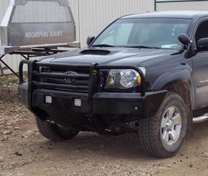 Truck Bumpers - Truck Defender - Truck Defender Aluminum Front Bumper Toyota Tacoma 2012-2015