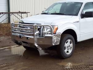 Truck Bumpers - Truck Defender - Truck Defender Aluminum Front Bumper Ford F150 2009-2014
