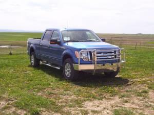 Truck Defender Aluminum - Ford  - Truck Defender - Truck Defender Aluminum Front Bumper Ford F150 2004-2008