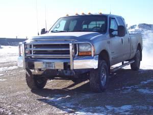 Truck Bumpers - Truck Defender - Truck Defender Aluminum Front Bumper Ford F250/F350 1999-2004