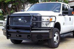 Truck Bumpers - American Built - American Built - American Built H2F23172 Pipe Front Bumper Ford F250/F350 2017-2018