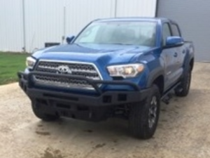 Hammerhead - Toyota Tacoma 2016-2017 - Hammerhead Bumpers - Hammerhead 600-56-0420 Low Profile Front Bumper with Pre-Runner Guard and Double Set Square Light Holes Toyota Tacoma 2016-2017