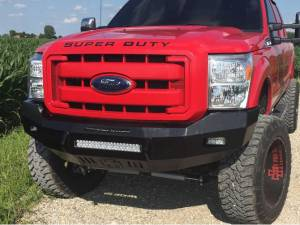 GMC Sierra 2500/3500 - GMC Sierra 2500/3500HD 2007-2010 - Iron Cross - Iron Cross 40-325-07-MB Matte Black Low Profile Front Bumper GMC Sierra 2007-2014
