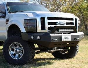 Truck Bumpers - Thunderstruck - Thunderstruck - Thunderstruck CLD03-FB-PR Pre-Runner Front Bumper Chevy 1500 2003-2006