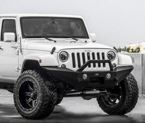 Jeep Bumpers - VPR 4x4 - VPR 4x4 - VPR VPR-134 Winch Front Bumper Jeep Wrangler JK 2007-2017