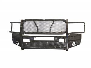 Front Bumper Replacement - Dodge - Frontier Gear - Frontier Gear 300-40-6006 Front Bumper Light Bar Compatible Dodge RAM 1500/2500/3500 2006-2008