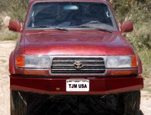 TJM - TJM - TJM 074SB17B80LCDS T17 Front Bumper Toyota Land Cruiser 1990-1997