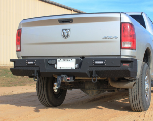 Ford F150 Bumpers - Bodyguard - Bodyguard T2RRF151X Rear T2 Series Rear with Sensor Holes Bumper Ford F150 2018-2019