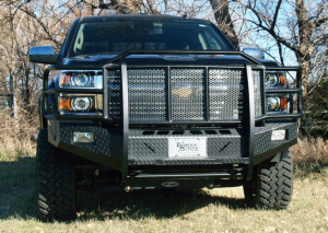 Truck Bumpers - Thunderstruck - Thunderstruck CLD16-200 Elite Front Bumper Chevy 1500 Non-Sensor Compatible 2016-2018