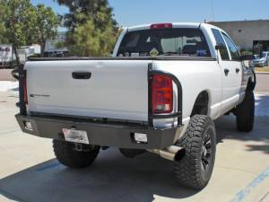 Truck Bumpers - Aluminess - Aluminess 210047.1 Rear Bumper Dodge RAM 2500/3500 2003-2005