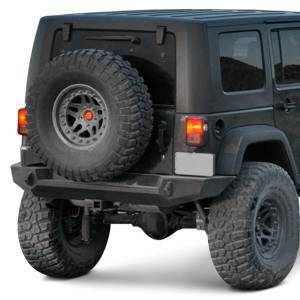 Expedition One - Expedition One JKRB100 Trail Series Rear Bumper Only (No carrier) Jeep Wrangler JK 2007-2018