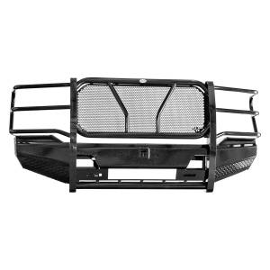 Truck Bumpers - Frontier Gear - Frontier 130-11-1006 Pro Front Bumper Light Bar Compatible Ford F250/F350 2017-2018