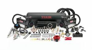 Suspension Parts - Air Suspensions - Viair - Viair 20185 Dual Stealth Black 485C Onboard Air System