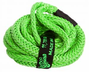 "Recovery Tow Ropes - VooDoo Offroad - VooDoo Offroad - VooDoo Offroad 1300007 1/2"" x 20' UTV Kinetic Recovery Rope Green"