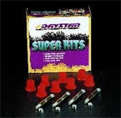 Suspension Parts - Bushings - Daystar - Daystar KJ02022BK Greasable Bolt And Bushing Kit