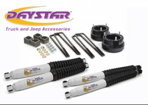 """Shock Absorbers & Accessories - Shock Absorbers - Daystar - Daystar KC09126BK 2"""" Lift with shocks Dodge RAM 2500/3500 1994-2010 and 2011-2013 1500 Mega Cab"""