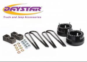 "Daystar Products - Lift Kits - Daystar - Daystar KC09131BK 2"" Lift Dana 70 Rear Axle with Top Mount Overload Springs 3/4 Dodge RAM 2500/3500 1994-2010"