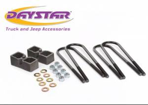 "Suspension Parts - Lift Blocks - Daystar - Daystar KC09132ST 2"" Rear Block Kit AAM 10.50 Rear Axle Dodge Ram 2500-3500 4WD 2003-2010"