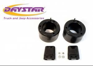 "Suspension Parts - Leveling Kits - Daystar - Daystar KC09135BK 2"" Leveling Kit Front Shocks Required KU01023BK Or Equivalent 13-18 Ram 3500 4WD and 14-18 RAM 2500 4WD"