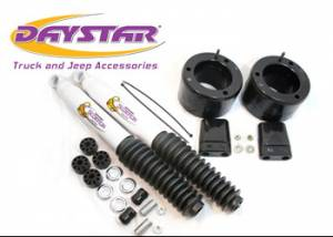 """Suspension Parts - Leveling Kits - Daystar - Daystar KC09138BK 2"""" Leveling Kit Front 2 Scorpion Shocks Included 13-18 Ram 3500 4WD and 14-185 RAM 2500 4WD"""
