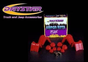 Suspension Parts - Bushings - Daystar - Daystar KF07005BK C-Bushings 4 Deg 14 Pcs. with Track Arm Radius and Strut Arm BushingsF150 Bronco 1966-1979