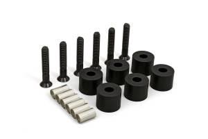 """Suspension Parts - Differential Drop Kits - Daystar - Daystar KJ01009BK 84-01 XJ 1-1/4"""" Transfer Case Drop Kit"""