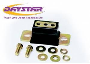 Suspension Parts - Transmission Parts & Accessories - Daystar - Daystar KJ01010BK 84-01 Jeep Cherokee XJ Transmission Mount Will Not Fit Peugeot Transmission