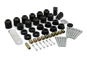 "Suspension Parts - Body Lift Kits - Daystar - Daystar KJ04505BK Body Lift Mount 1"" Jeep Wrangler YJ 1987-1996"