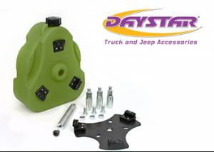 Exterior Accessories - Tire Carrier and Components - Daystar - Daystar KJ71035GN Cam Can Kit Green with Spout Jeep CJ 1946-1975