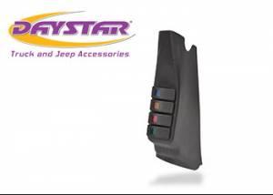 Interior Accessories - Electrical Switch Panels - Daystar - Daystar KJ71044BK Jeep Wrangler JK 2007-2010 A-Pillar Switch Pod with Switches