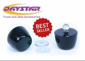 Suspension Parts - Poly Joints - Daystar - Daystar KJ71051BK Hood Bumpers Poly Pair Jeep Wrangler YJ 1987-2006