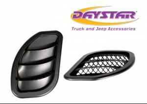 Hood Accessories - Hood Vent - Daystar - Daystar KJ71052BK Hood Vent