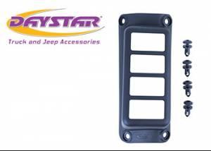 Interior Accessories - Electrical Switch Panels - Daystar - Daystar KJ71055BK Jeep Wrangler JK 2007-2018 A-Pillar Switch Pod