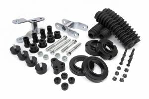 """Springs - Coil Spring Spacers - Daystar - Daystar KT09102BK 2.5"""" Lift with Front Strut Spacers Toyota Tacoma 1996-2004"""