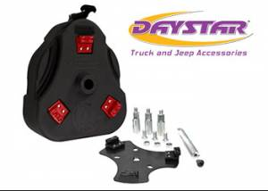 Exterior Accessories - Tire Carrier and Components - Daystar - Daystar KT71001BK Cam Can Black Complete Kit with Spout Toyota FJ Cruiser 2007-2014