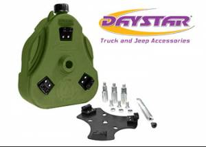 Exterior Accessories - Tire Carrier and Components - Daystar - Daystar KT71001GN Cam Can Green Complete Kit with Spout Toyota FJ Cruiser 2007-2014