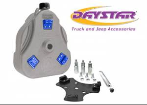 Exterior Accessories - Tire Carrier and Components - Daystar - Daystar KT71001RB Cam Can Gray Complete Kit Drinking Water with Spout Toyota FJ Cruiser 2007-2014