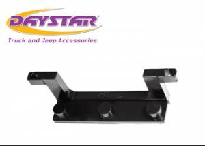 Exterior Accessories - License Plate Bracket - Daystar - Daystar KU70040BK License Plate Bracket for Roller Fairlead Isolator Black