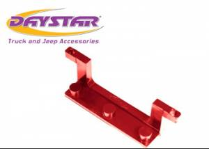 Exterior Accessories - License Plate Bracket - Daystar - Daystar KU70040RE License Plate Bracket for Roller Fairlead Isolator Red