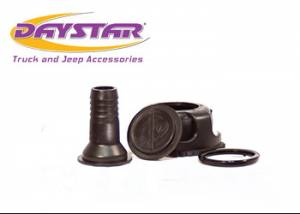 Exterior Accessories - Tire Carrier and Components - Daystar - Daystar KU71123BK Cam Can Spout / Cap Assembly Black For water and
