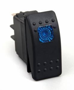 Interior Accessories - Electrical Switch Panels - Daystar - Daystar KU80011 Rocker Switch Blue Light 20 AMP Single Pole